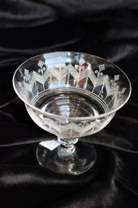 Stuart crystal goblet - pick up only