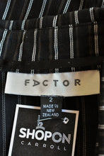 Load image into Gallery viewer, Factor NZ button up shirt, size 2