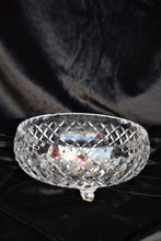Load image into Gallery viewer, Medium round textured crystal bowl - pick up only