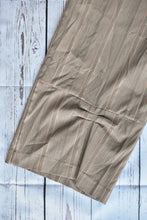 Load image into Gallery viewer, Grey pinstripe pants, size 16