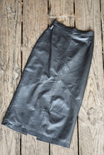 Load image into Gallery viewer, Skin Things NZ retro leather skirt, size 12 (retro)