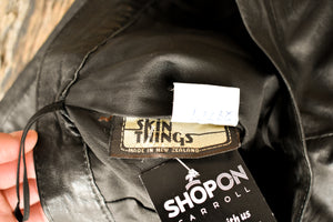 Skin Things NZ retro leather skirt, size 12 (retro)