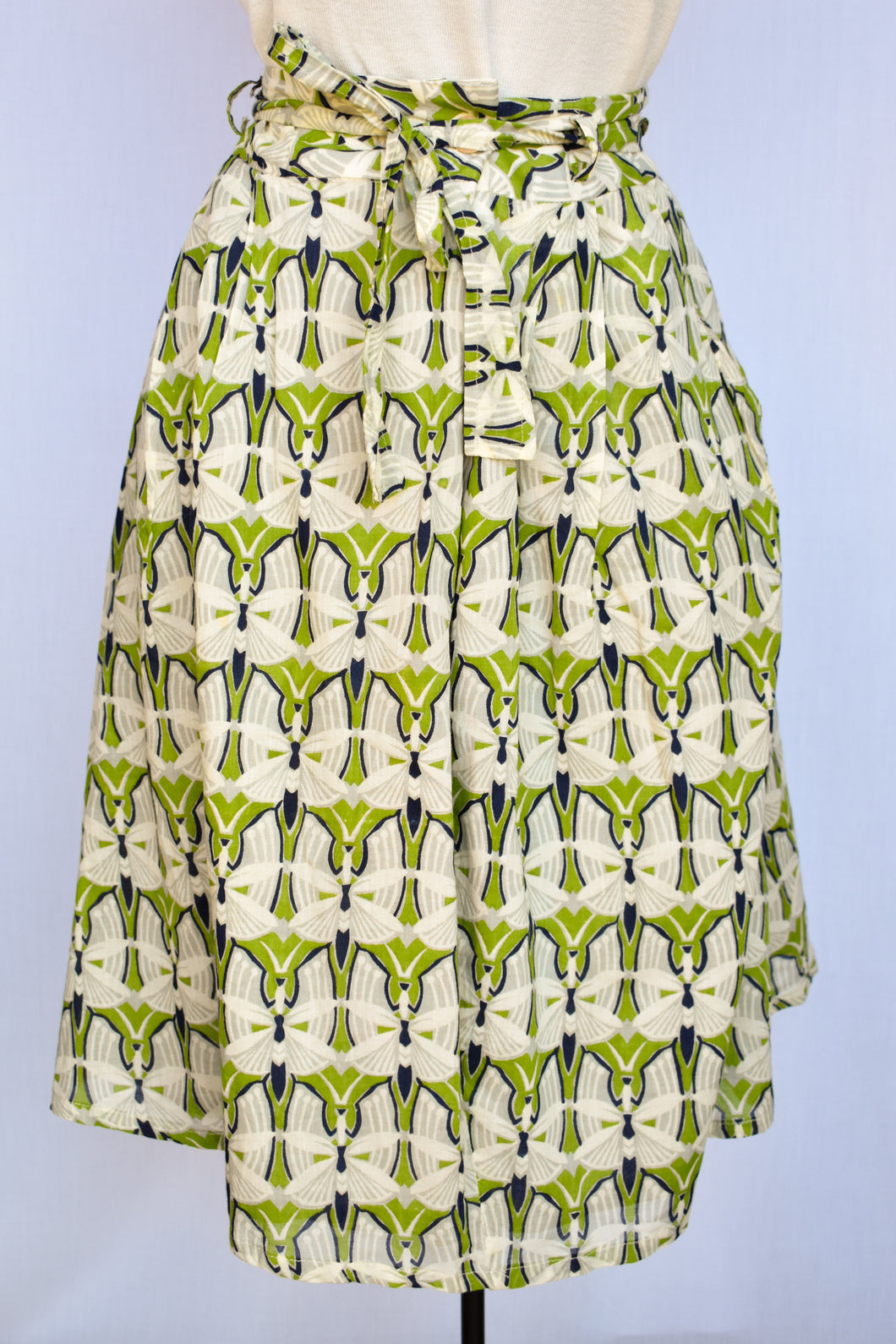 RJC by Kingan Jones patterned skirt, size 12