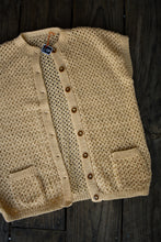 Load image into Gallery viewer, Peach retro wool vest, size L