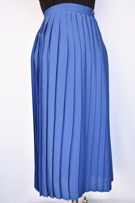 Pierre Cardin pleated retro skirt, size 12