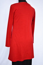 Load image into Gallery viewer, Red merino wool dress, size 10