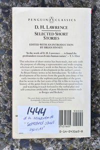 Selected Short Stories of D.H. Lawrence