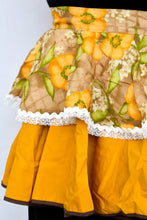 Load image into Gallery viewer, Mustard yellow retro apron