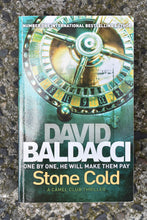 Load image into Gallery viewer, Stone Cold by David Baldacci