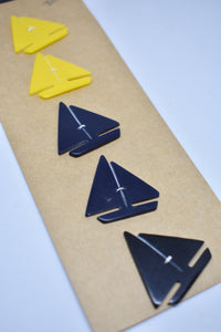 Sailboat novelty buttons x5