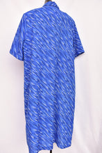 Load image into Gallery viewer, Lyndal navy retro maxi, size L