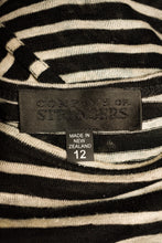 Load image into Gallery viewer, Company of Strangers striped linen long top, size 12