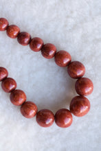 Load image into Gallery viewer, Red stone necklace
