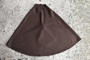 Fields charcoal cape, one size