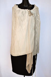 Rick Owens silk cape/skirt, size 10