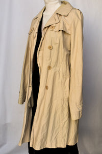 Workshop lightwight trench, size 12
