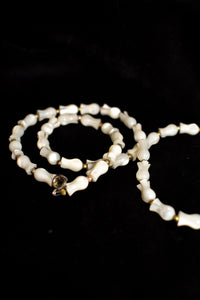 Vintage mother of pearl look necklace
