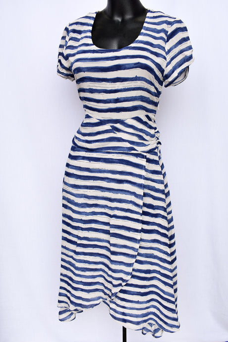 Robyn Mathieson striped dress, size 8