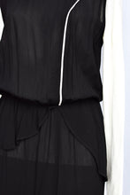 Load image into Gallery viewer, Starfish NZ black simple dress, size 14