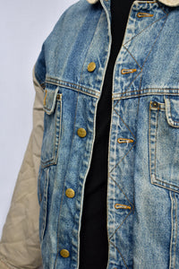 New Boxer Club vintage denim jacket, size XL (Womens)