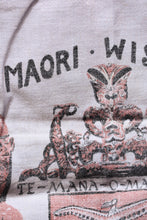 Load image into Gallery viewer, Retro Māori wisdom tea towel