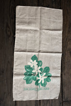 Load image into Gallery viewer, Cook Islands national flower tea towel