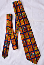 Load image into Gallery viewer, Carnaval de Venise patterned tie