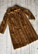 Load image into Gallery viewer, Vintage Furricoat by DL Ellis long coat, size 16