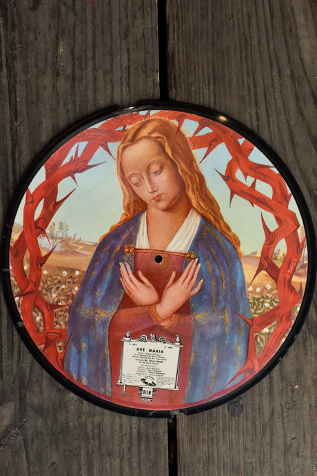 Saturn Biem - Ave Maria and Panis Angelicus record - collectible
