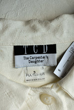 Load image into Gallery viewer, The Carpenter's Daughter button up shirt, size 3