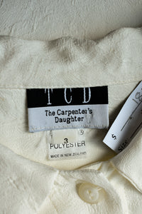 The Carpenter's Daughter button up shirt, size 3