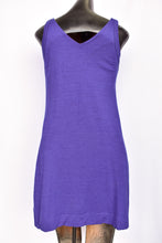 Load image into Gallery viewer, Purple sleeveless merino dress, size M