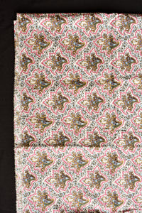 Cotton colourful patterned fabric 110cm x 2.2m