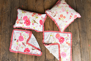 PIP Studio Set: Queen duvet cover, 2x pillowcases and 2x euro square pillowcases