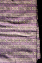 Load image into Gallery viewer, Vintage viyella purple fabric 90cm x 2.7m