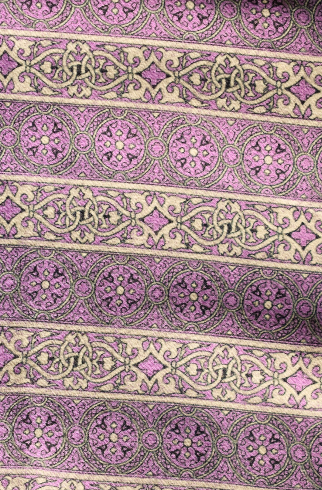 Vintage viyella purple fabric 90cm x 2.7m