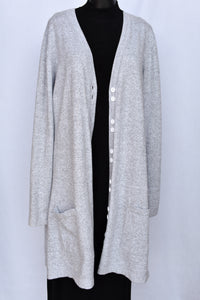 Scottie Cashmere long cardy, size L