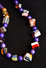 Load image into Gallery viewer, Colourful Murano glass necklace
