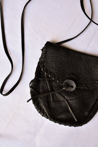 Nom*d small soft leather shoulder bag/pouch