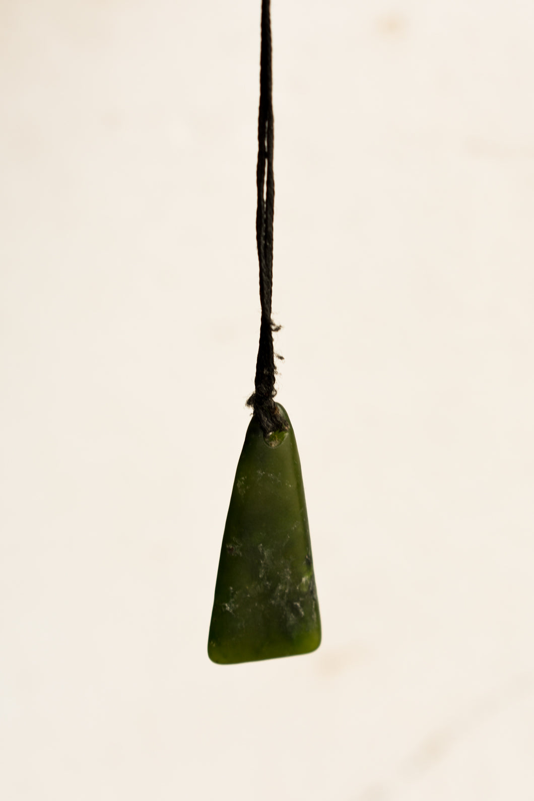 Pounamu pendant necklace
