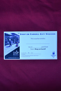 Shop on Carroll $30 gift voucher