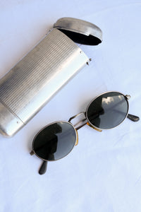 Vintage sunglasses with case
