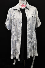 Load image into Gallery viewer, Souer silver shirt, size S