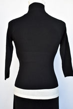 Load image into Gallery viewer, Pepe Peluso black top, size S