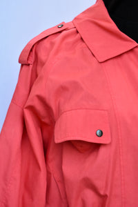 Retro asymetric jacket, size 14