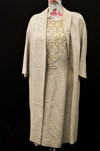 Vintage 1968 dress and jacket, size M