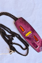 Load image into Gallery viewer, Valda enamelled copper necklace
