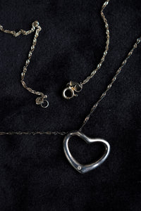925 Silver heart necklace