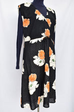 Load image into Gallery viewer, Noa Noa navy floral dress, size S