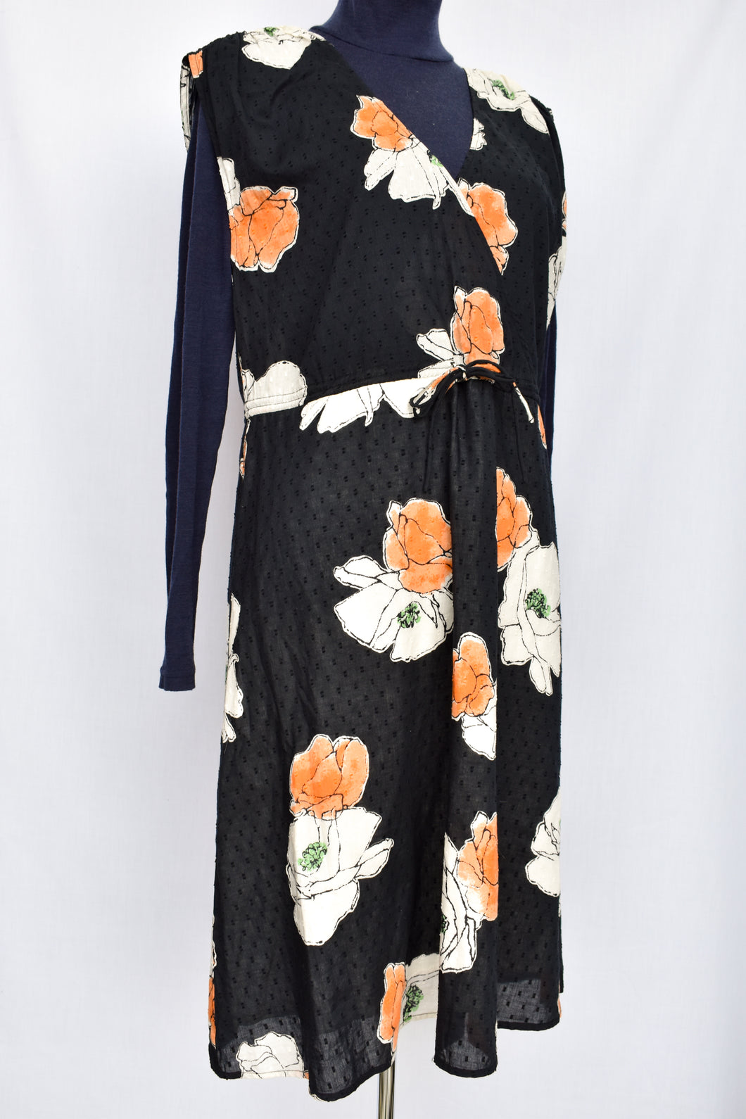 Noa Noa navy floral dress, size S